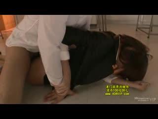 【レイプ動画】緊縛されて潮吹きが止まらなくなるまで調教される人妻女教師